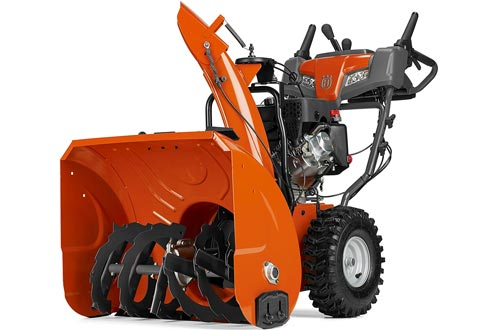Husqvarna ST227P, 27 in. 254cc Two-Stage Gas Snow Blowers with Power Steering