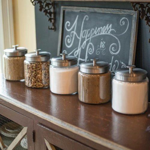 Anchor-Hocking-1.5-Gallon-Montana-Glass-Jar-with-Fresh-Seal-Lid-Brushed-Metal-Set-of-1