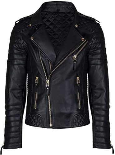 Aries-Leathers-Mens-Real-Lambskin-Leather-Genuine-Motorcycle-Jacket-MJ300