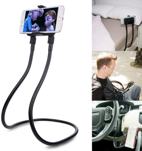 B-Land-Cell-Phone-Holder-Universal-Mobile-Phone-Stand-Lazy-Bracket-DIY-Free-Rotating-Mounts-with-Multiple-Function-Black