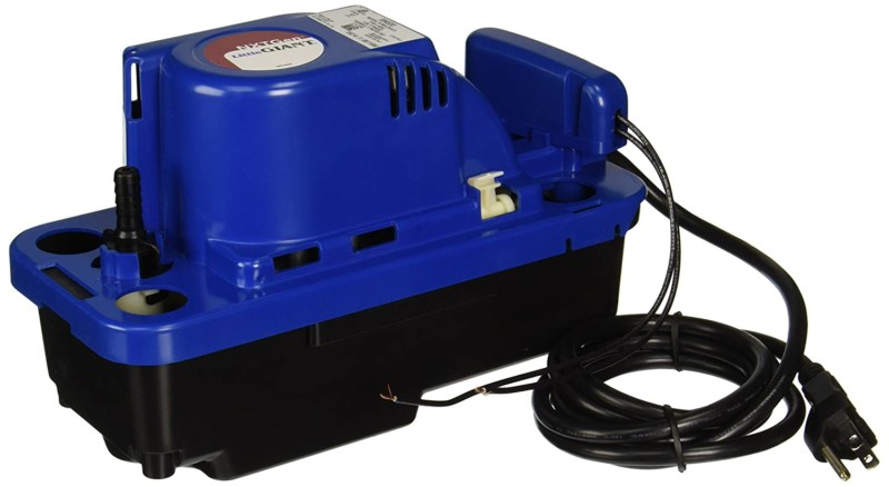Little Giant 554530 VCMX-20ULS 115-volt Condensate Pump, blue