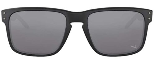 Oakley Holbrook Sunglasses, Matte Black Frame/Warm Grey Lens, One Size TOP 10 BEST CHEAP OAKLEY SUNGLASSES IN 2021 REVIEWS