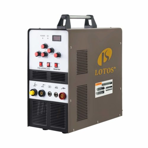 Lotos TIG200ACDC 200A AC/DC Aluminum Tig Welder with DC Stick/Arc Welder, Square Wave Inverter with Foot Pedal and Argon Regulator 110/220V Dual Voltage Brown TOP 10 BEST TIG WELDERS IN 2021 REVIEWS