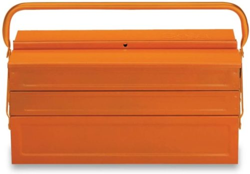 C20-FIVE-SECTION CANTILEVER STEEL TOOL BOX, ORANGE, EMPTY TOP 10 BEST CANTILEVER TOOL BOXES IN 2020 REVIEWS