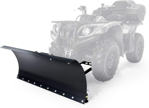 Black Boar Snow Plow Kit ATV Kit-48 with 9-Position Blade Angle, Adjusts to 30 Degrees to Each Side (66016)TOP 10 BEST ATV SNOW PLOWS IN 2020 REVIEWS