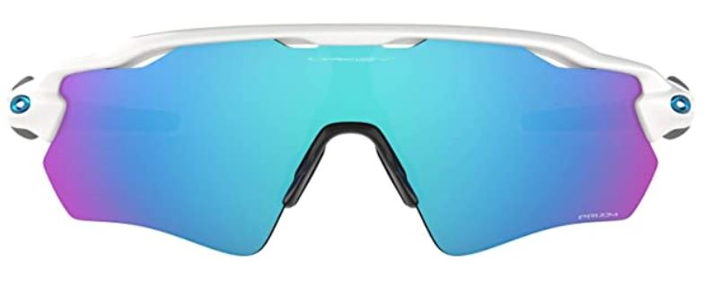 Oakley Men's Radar Ev Path Non-polarized Iridium Rectangular Sunglasses, MATTE BLACK, 0 mm