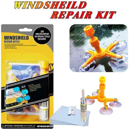 YOOHE Car Windshield Repair Kit - Windshield Chip Repair Kit with Windshield Repair Resin for Fix Auto Glass Windshield Crack Chip Scratch