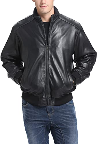 BGSD-Mens-Black-Lambskin-Leather-Bomber-Jacket-Regular-and-Big-Tall-Sizes
