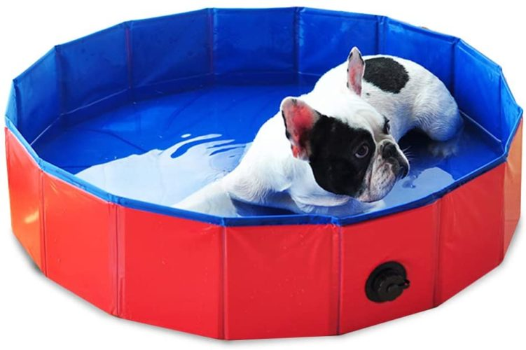 Decdeal Foldable Pet Bathtub