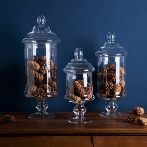 Diamond-Star-Apothecary-Glass-Candy-Jar-with-Lids-Candy-Buffet-Display-Elegant-Storage-Jars-Decorative-Wedding-Candy-Canisters-Height-1222-Body-622