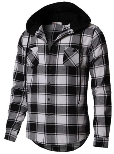 H2H-Mens-Casual-Hoodie-Jackets-Lightweight-Long-Short-Sleeve-with-Pockets-1