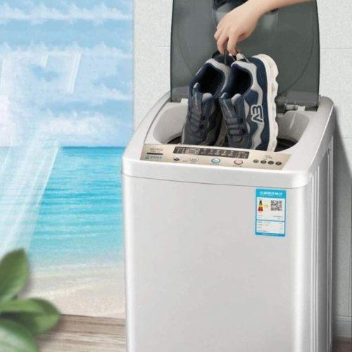 Home-Smart-Shoe-Washing-Machine-Small-Mini-Dormitory-Shoe-Washer-Portable-Fully-Automatic-Shoe-Washer-Lazy-People-Shoe-Washing-Artifact-Blu-ray-Sterilization