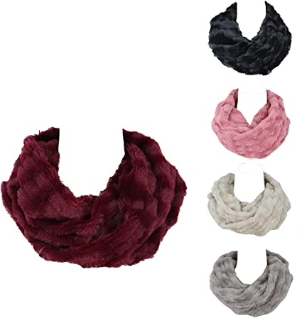 Infinity-Scarf-Faux-Fur-Scarf-for-Women-and-Men-Super-Soft-Stretchy-and-Lightweight-Winter-Scarf-Shawl-Neck-Warmer.