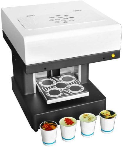 KUNHEWUHUA-Latte-Printing-Machine-Latte-Coffee-Art-Printer-Intelligent-Coffee-Latte-Maker-4-Cups-USB-Win7-Support-for-Coffee-pastry-Yogurt-Biscuits-DIY