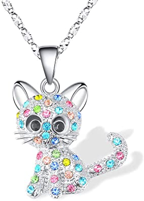 Lanqueen-Kitty-Cat-Pendant-Necklace-Jewelry-for-Women-Girls-Kids-Cat-Lover-Gifts-Daughter-Loved-Necklace-182.4-inch-Chain