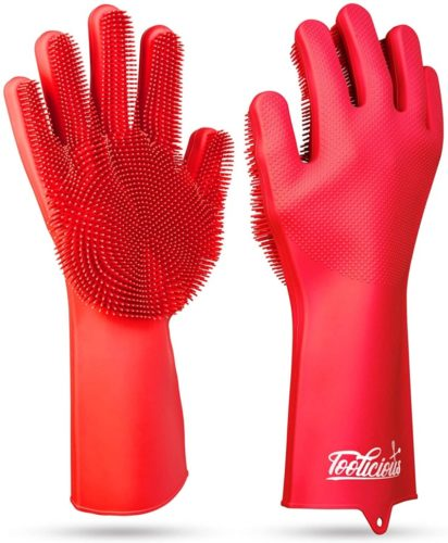 Magic-SakSak-Reusable-Silicone-Dishwashing-Gloves-Pair-Of-Rubber-Scrubbing-Gloves-For-Dishes-Wash-Cleaning-Gloves-With-Sponge-Scrubbers-For-Washing-Kitchen-Bathroom-Car-and-More-Red-14.5-Inch-.jpg