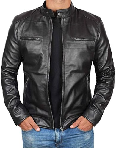 Mens-Leather-Jacket-Real-Lambskin-Motorcycle-Jacket-for-Men
