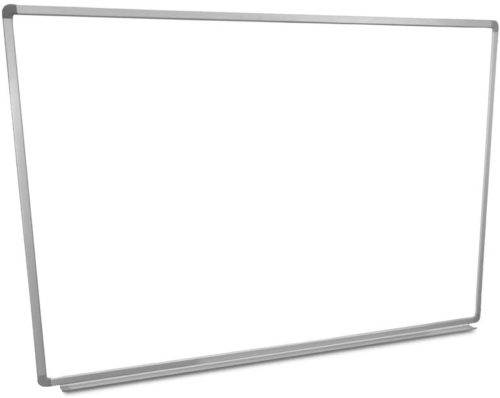 """Offex 60""""W x 40""""H Wall Mounted Dry Erase"""