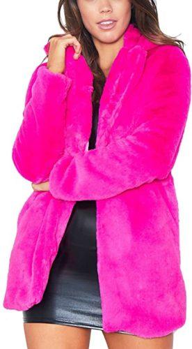 Remelon-Womens-Long-Sleeve-Winter-Warm-Lapel-Fox-Faux-Fur-Coat-Jacket-Overcoat-Outwear-with-Pockets