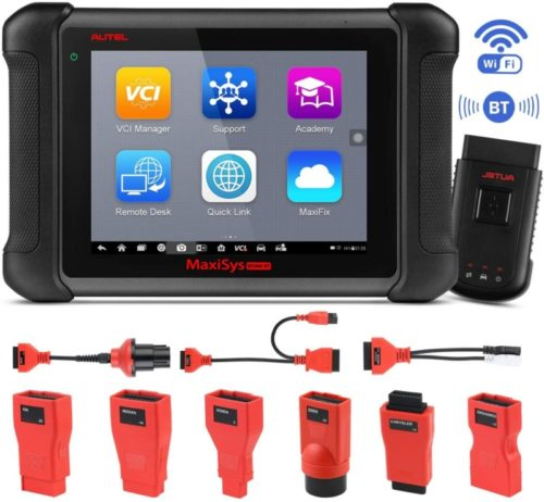 Autel Maxisys MS906BT Diagnostic Tool with OE-Level, ECU Coding Capability OBD2 Scanner, 22 Service Including Oil Reset Service, TPMS, EPB, ABS, SRS, SAS Scan Tool Advance Ver. of DS808/MS906/MK808