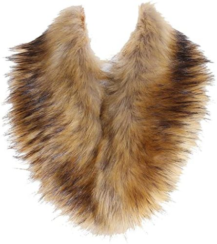 SoulYoung-Faux-Fur-Collar-Womens-Neck-Warmer-Scarf-Wrap