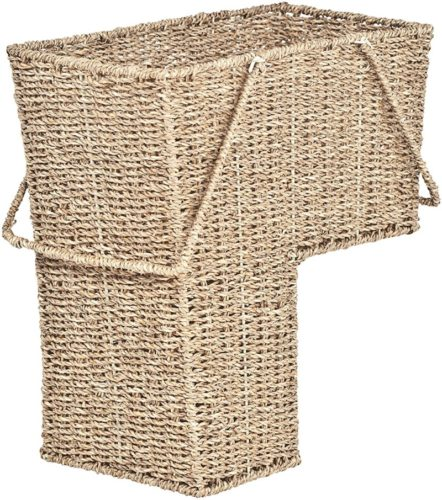 Trademark-Innovations-15inch-Wicker-Storage-Stair-Basket-with-Handles