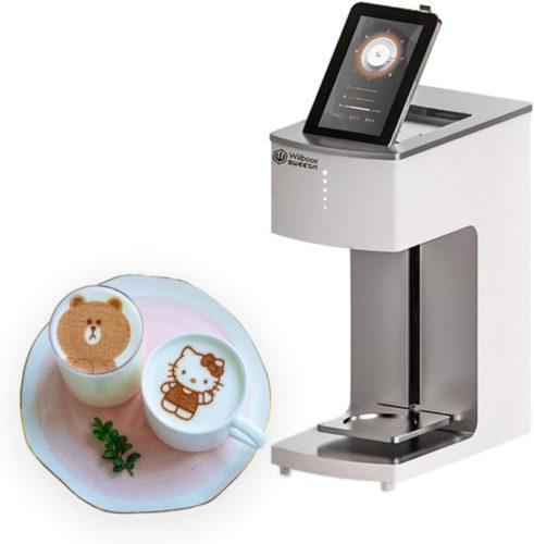 WiibooxSweetin Food-grade Coffee Printer Latte Art Barista Machine Digital Inkjet Cake Desserts Decoration Maker