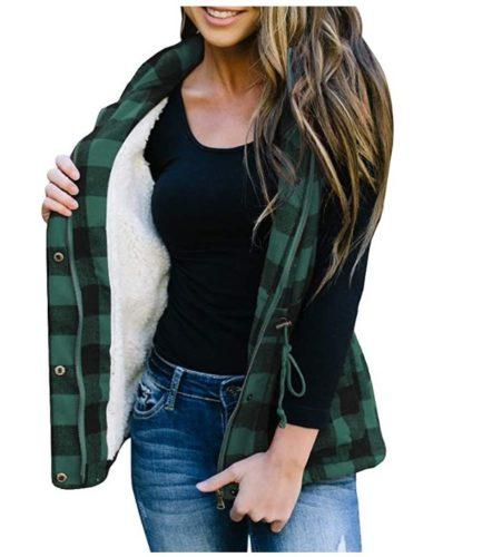 Womens-Winter-Buffalo-Plaid-Jacket-Vest-with-Sherpa-Fleece-Lining-1