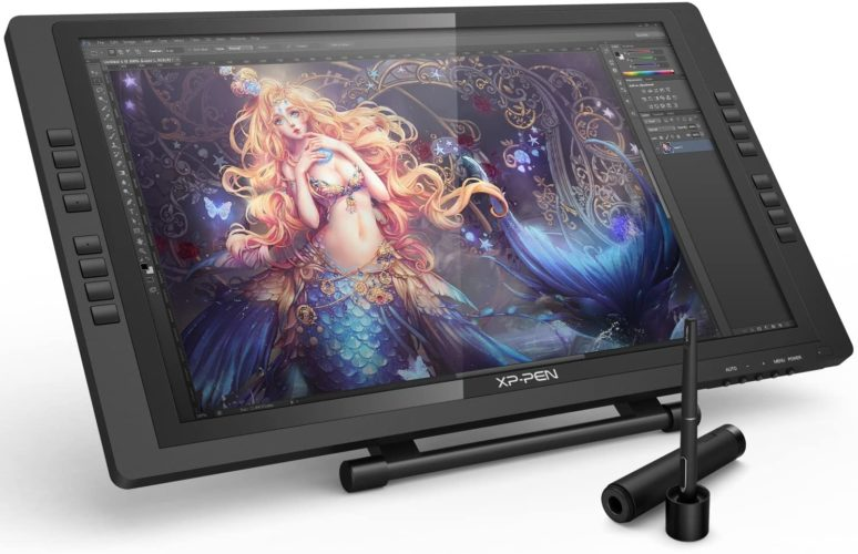 XP-PEN Artist22E Pro Drawing