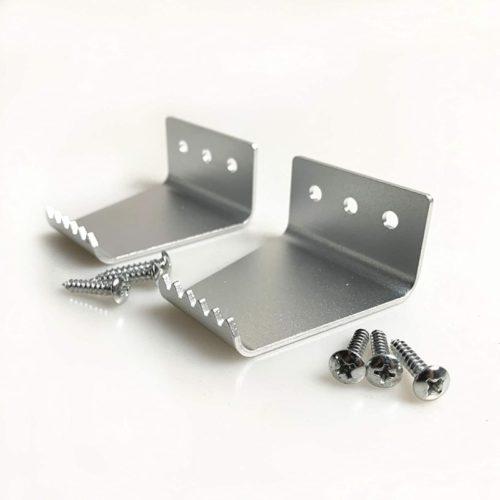 footpull-Hands-Free-Door-Opener-Sanitary-Door-Opener-Silver-Aluminum-2-Piece