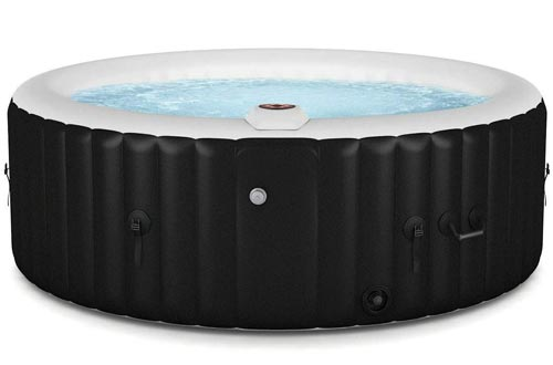 beautifulwoman Inflatable Bubble Portable Massage spa hot tubs 4 Person Relaxing Outdoor