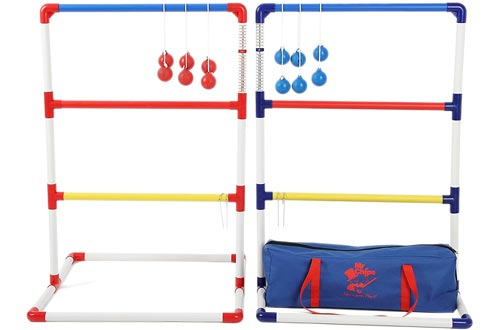 MR CHIPS Ladder Toss Game with Ladder Golfs Bolo Balls - Free Bonus