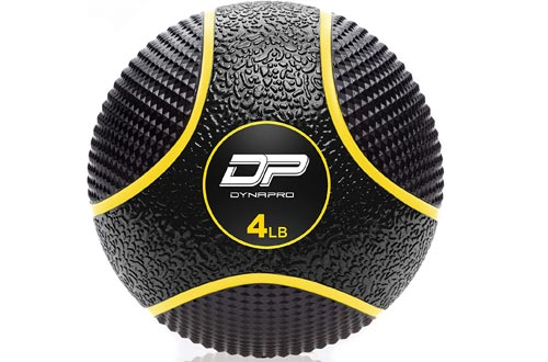 DYNAPRO Medicine Ball | Exercises Ball, Durable Rubber, Consistent Weight Distribution, Comfort Textured Grip for Strength Training