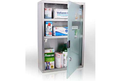Wincere Stainless Steel Wall Mount Medicine Cabinets S1200