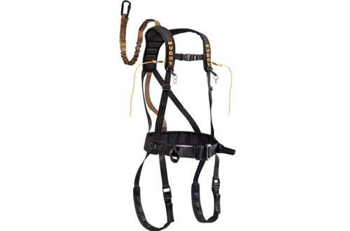 Muddy Safeguard Harnesses, Large, Black