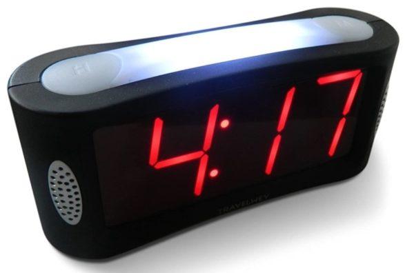 1. Travelwey Home LED Digital Alarm Clock - Outlet Powered