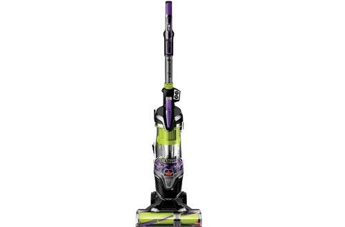 BISSELL Pet Hair Erasers Turbo Plus 24619 Upright Vacuum Cleaner, Purple