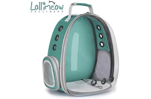 Lollimeow Pet Carrier Backpacks, Bubble Backpacks Carrier, Cats and Puppies,Airline-Approved, Designed for Travel, Hiking, Walking & Outdoor Use