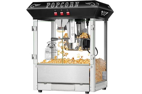 Hot and Fresh Countertop Style Popcorn Popper Machines-Makes Approx. 3 Gallons Per Batch- by Superior Popcorn Company