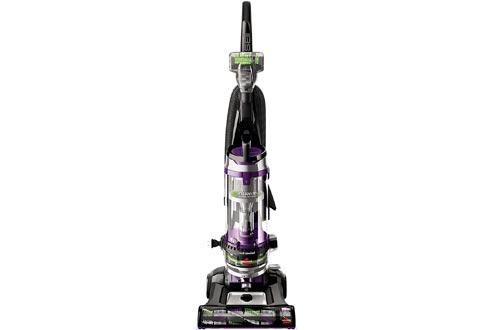 BISSELL Cleanview Swivel Rewind Pet Upright Bagless Vacuum Cleaner, Purple