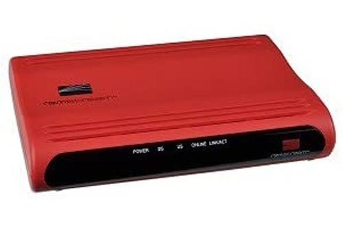 Remstream REM-8100 DOCSIS 2.0 Cable Modem Internet Routers w/Ethernet & USB (Red)