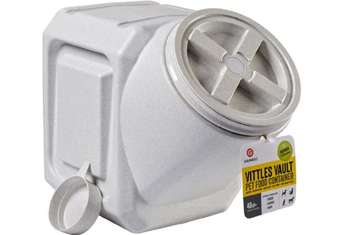Gamma2 Vittles Vault Outback Stackable 40 lb Airtight Pet Food Storage Containers
