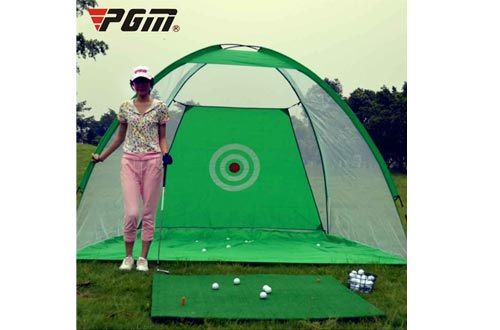 PGM 3 in 1 Golf Practice Nets Hitting Game