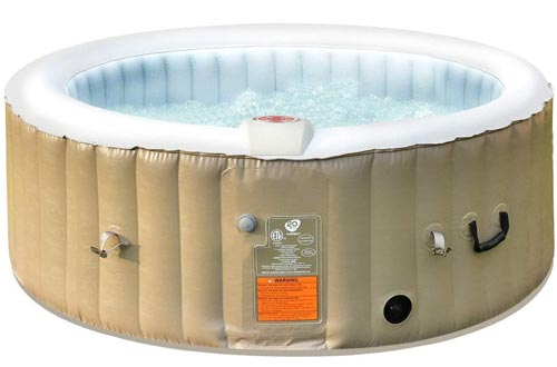 RASIKA SHOP 4 Person Portable Outdoor Blow up Inflatable Air Bubble Spa Hot Tubs w/Cover Bag