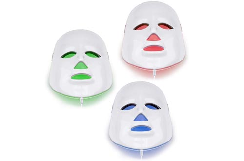 NORLANYA Photon Therapy Facial Skin Care Treatment Machine Facial Toning Masks - Blue Red Green Photon Light