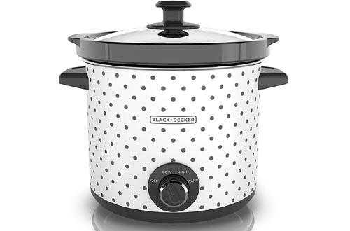 Black & Decker, Black/White SC1004D Slow Cookers, 4 Quart, 1