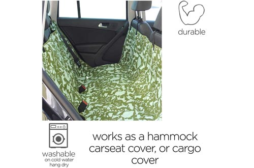 Molly Mutt Dog Car Seat Covers - Dog Hammock for Back Seat - Dog Car Seat Covers Hammock Covers - Cute Car Seat Covers for Cars - Car Covers for Dogs