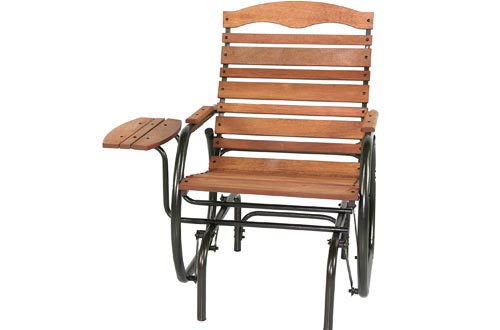 Jack Post CG-21Z Country Garden Glider Chairs with Tray, Bronze