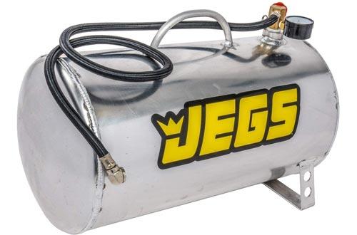 "JEGS 81001 5 gal. Horizontal Portable Aluminum Air Tanks, 19"" L x 9"" Dia."