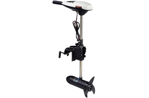 NICE CHOOSE 65LBS Outboard Motor, Electric Trolling Outboard Motors Inflatable 12V 660W Fishing Boats Engine Telescopic (US Shipping)